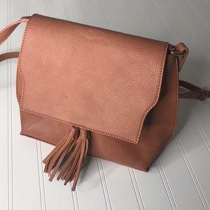 Sole Society Tan Cross Body Bag